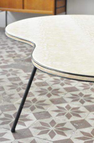 table-basse-haricot-vintage