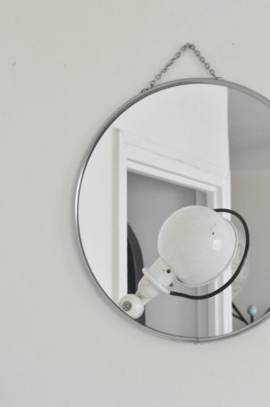 Miroir de barbier
