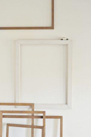 cadres-bois-blanc-vintage