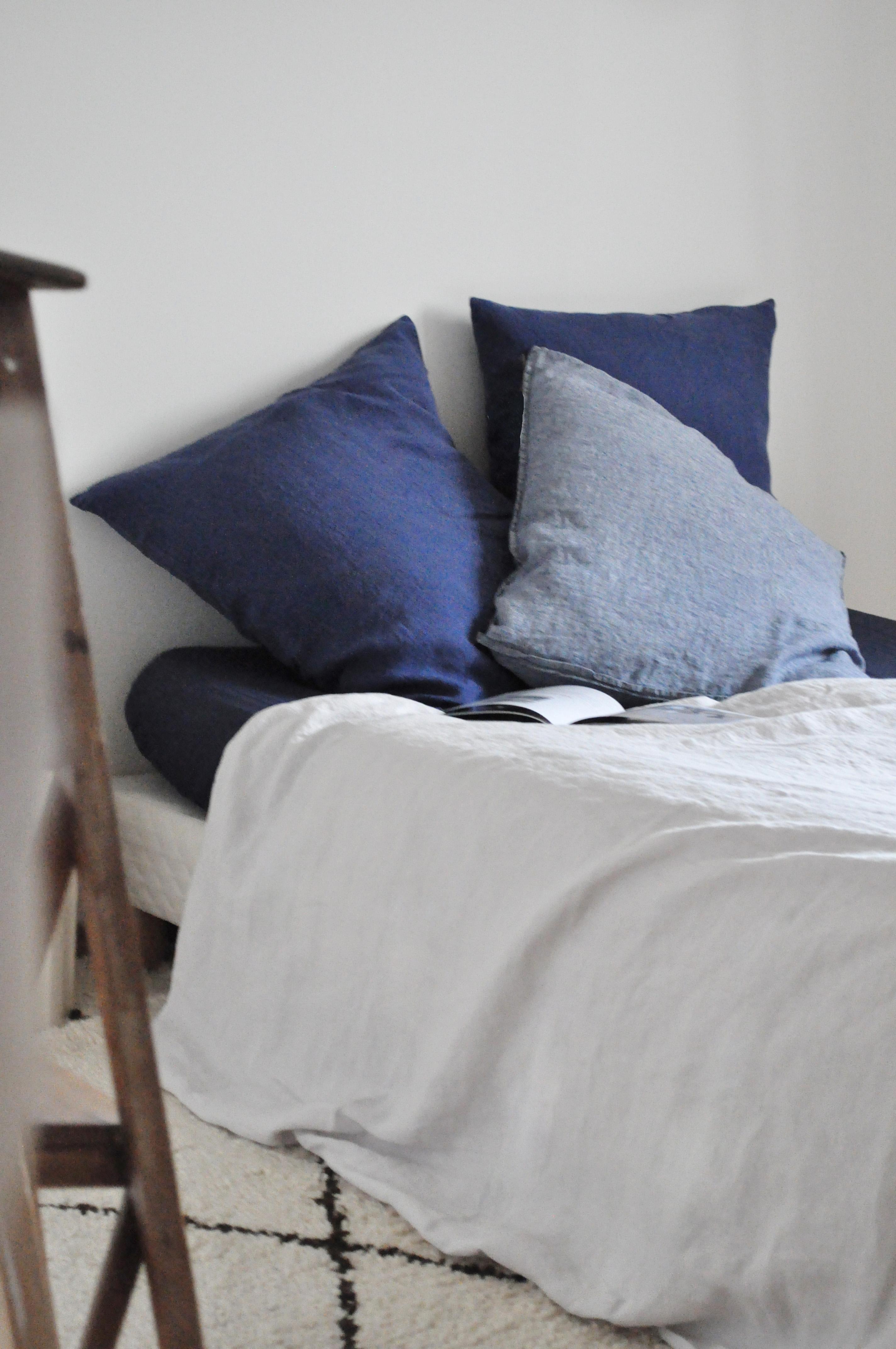 housse de couette en lin craie le vide grenier d 39 une parisienne. Black Bedroom Furniture Sets. Home Design Ideas