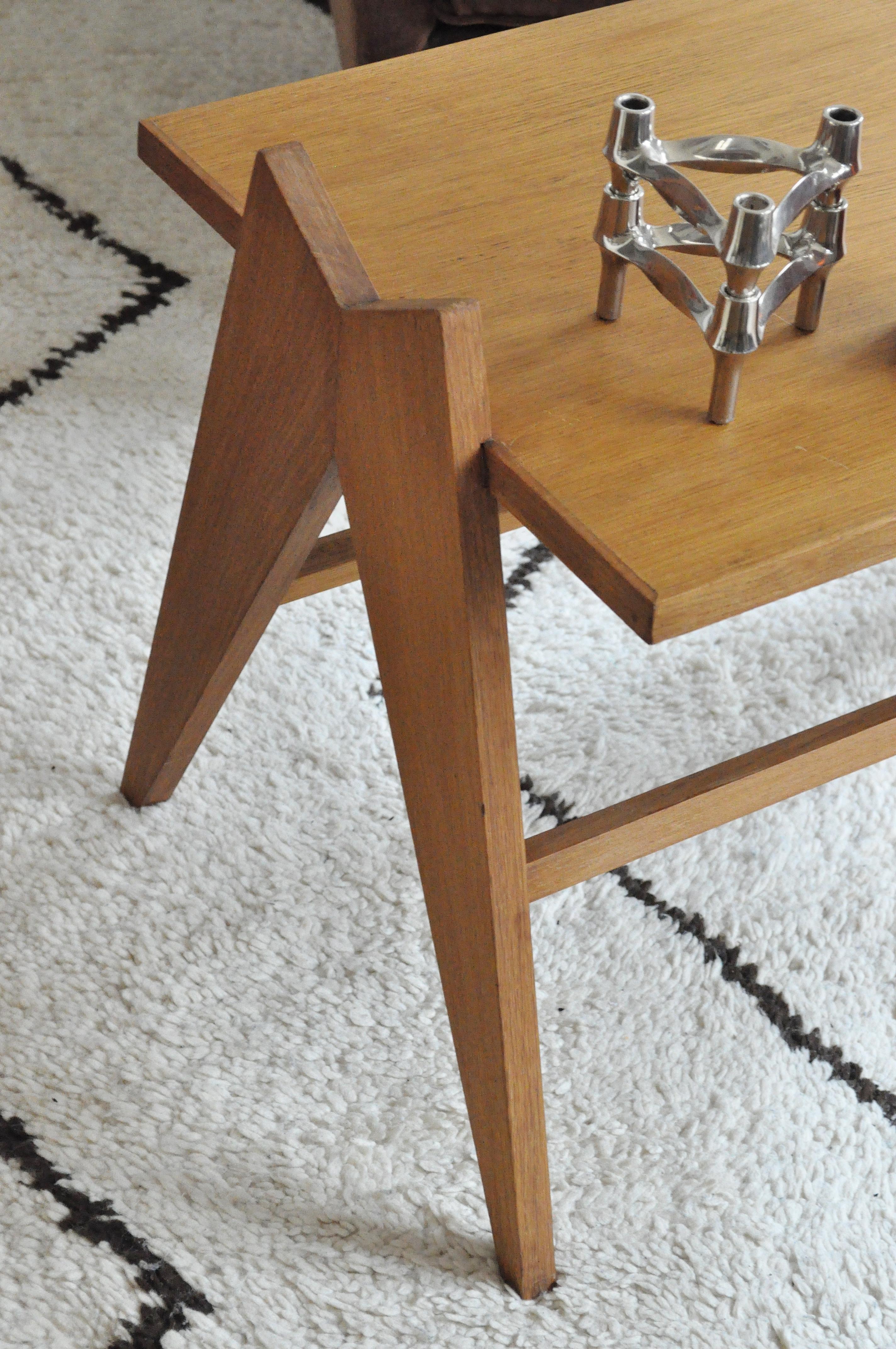 Table basse pieds compas le vide grenier d 39 une parisienne - Table basse pieds compas ...