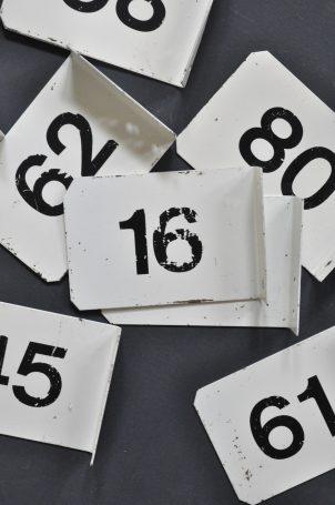 plaque-indus-numerotee