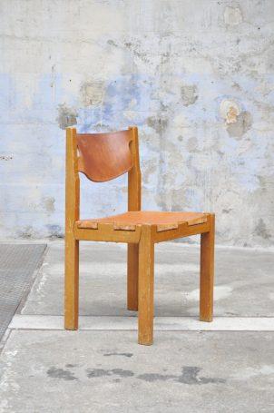 chaises-cuir-vintage
