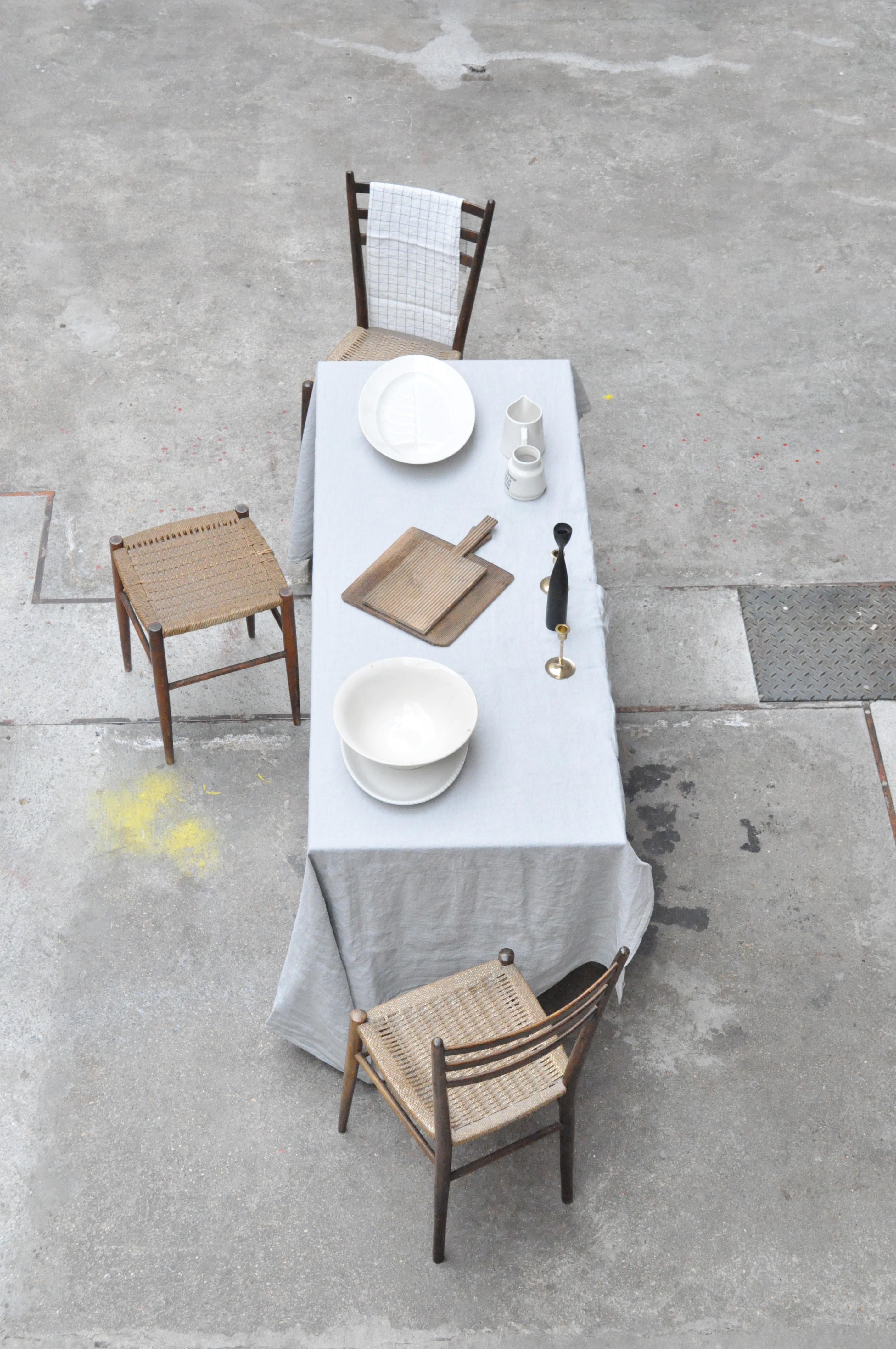 nappe gris nuage le vide grenier d 39 une parisienne. Black Bedroom Furniture Sets. Home Design Ideas