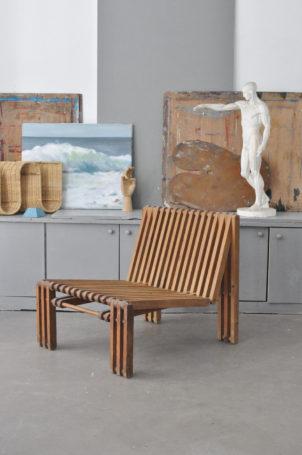 fauteuils-a-lattes-forme-libre-1950