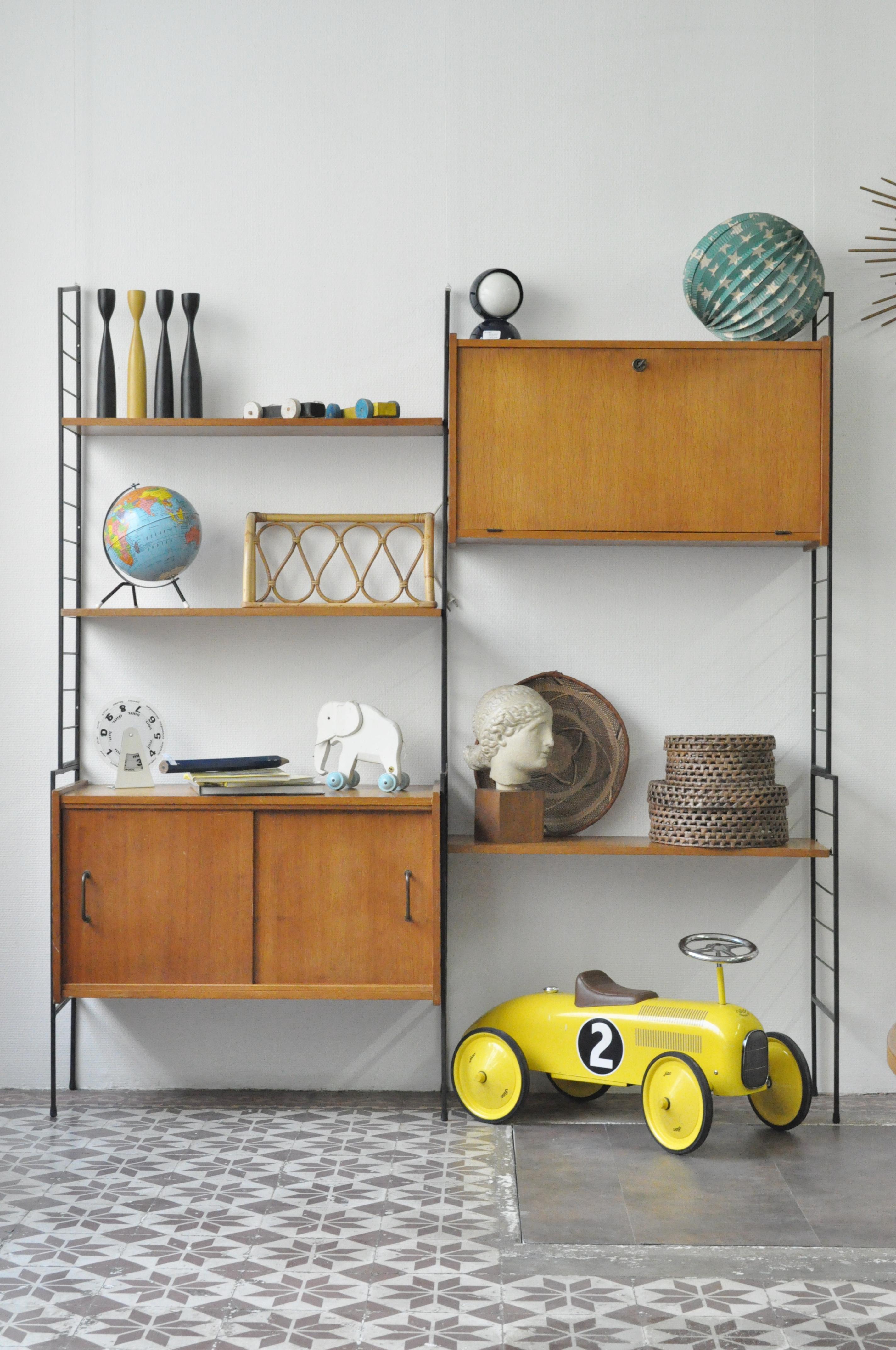 biblioth que modulable le vide grenier d 39 une parisienne. Black Bedroom Furniture Sets. Home Design Ideas