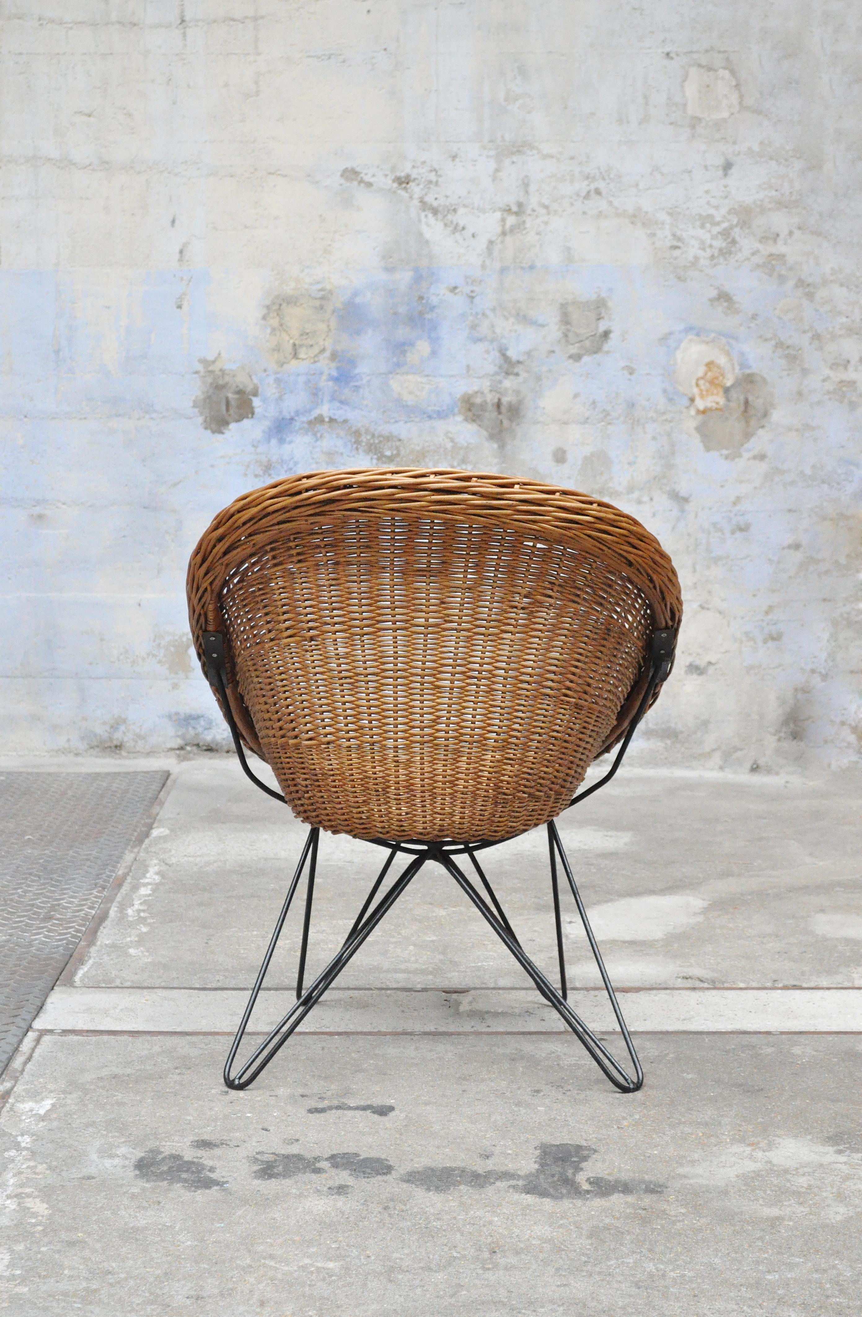 fauteuil rotin vintage - Fauteuil Rotin Vintage